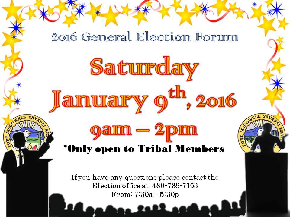 2016 Election Forum