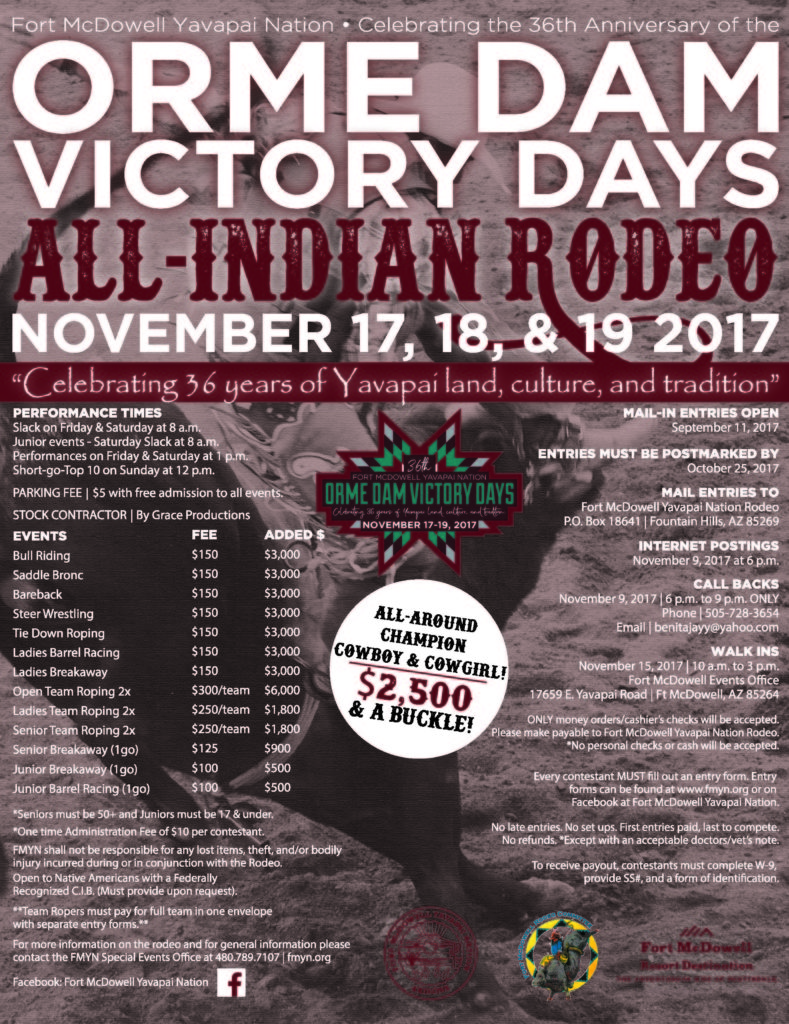 Orme Dam Rodeo Fort Mcdowell Yavapai Nation
