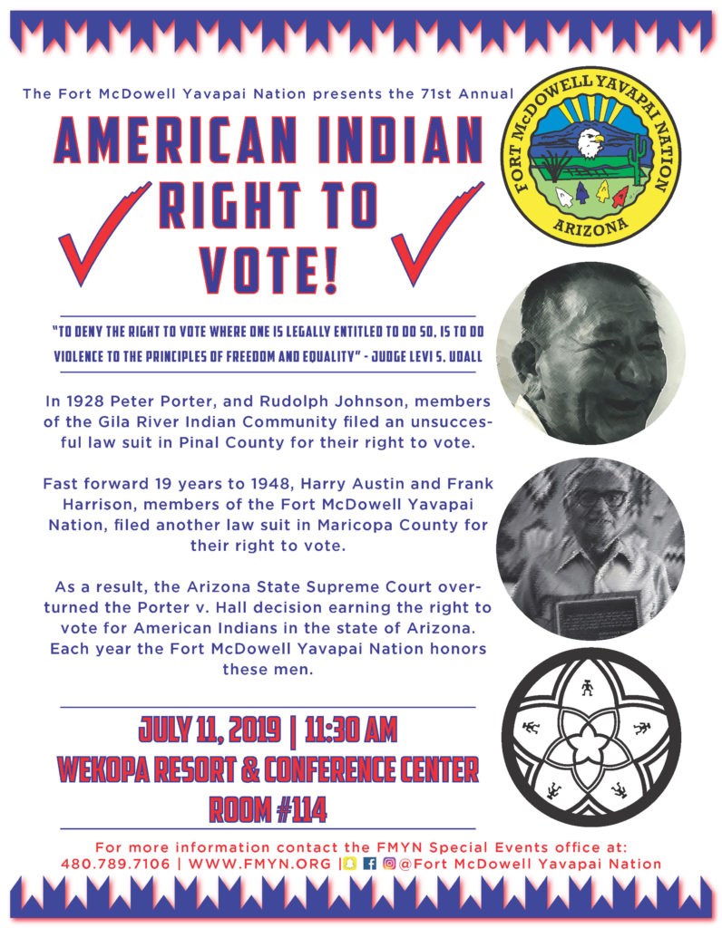 Voting Rights Day - Fort McDowell Yavapai Nation