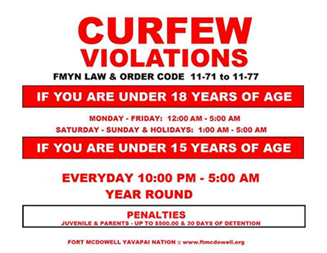 curfew law in arizona Each arizona city enforces its own curfew laws a city's law is sometimes called a 'municipal code' or 'city code' your best source for the curfew law in your city is your local police department or city attorney's office.