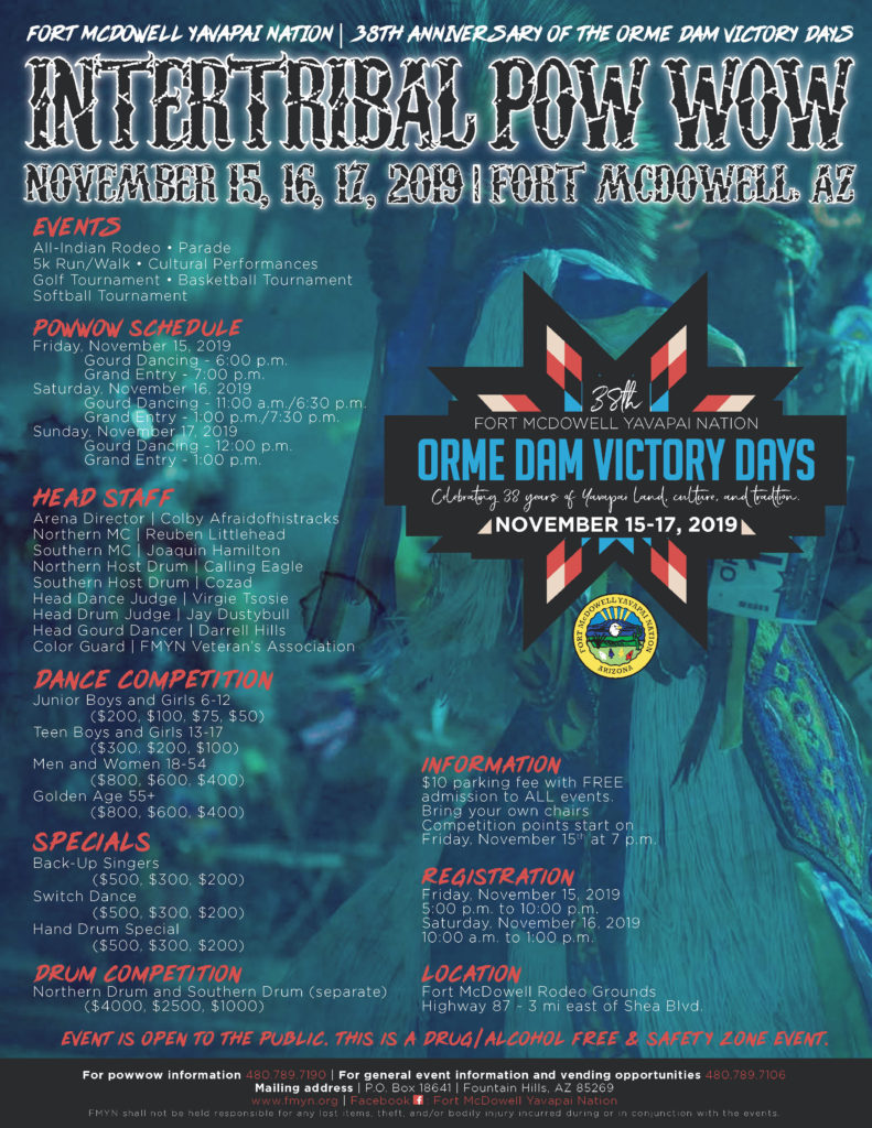 Orme Dam Victory Days Pow Wow Fort Mcdowell Yavapai Nation