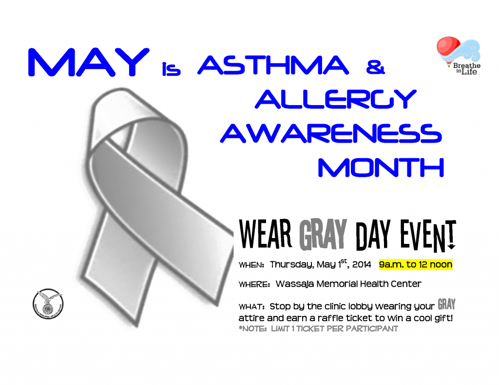May is Asthma & Allergy Awareness Month - Fort McDowell ...