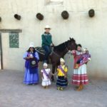 Tribal members at the Mesa Convention and Visitor Bureau